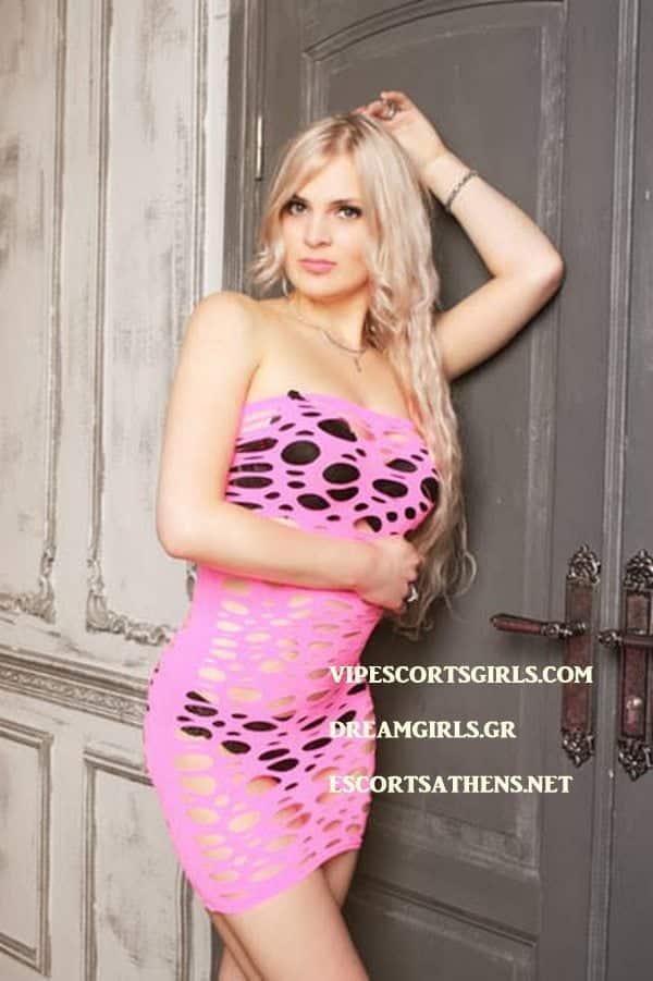Blond Escort Athina Valentina